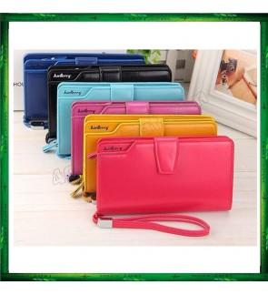 Baellerry N1503 Handphone Purse Long Zipper Wallet Wristlet