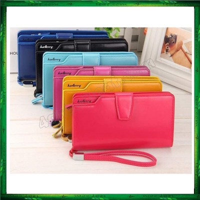 4GL Baellerry Handphone Purse Long Zipper Wallet Wristlet N1503