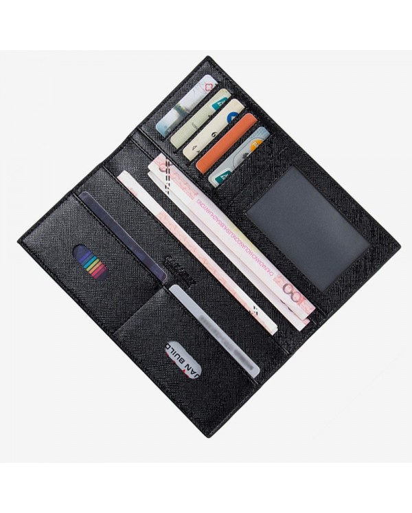 4GL BAELLERRY 3027 Men Women Long 0.5cm Slim Wallet Purse Dompet
