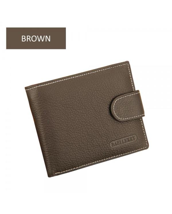 4GL BAELLERRY Men Women Wallet Short Purse Leather Dompet D1303