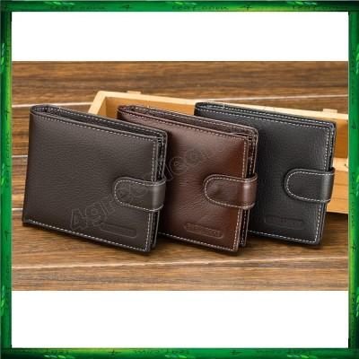 Baellerry Men Women Wallet Short Purse Leather D1303