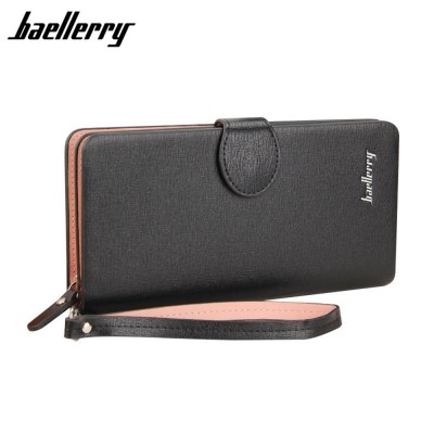 4GL Baellerry 13845-3 Handphone Purse Long Design Zip Wallet Wristlet