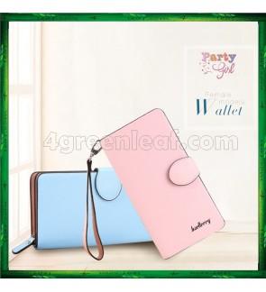 Baellerry Handphone Purse Long Design Zip Wallet Wristlet 13845-3
