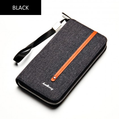 4GL Baellerry S1523 Long Wallet Canvas Purse Dompet