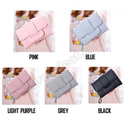 4GL Fashion Quality Short Lady Purse Wallet Wallets 8M299