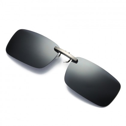 4GL CS06 Clip On Polarized Sunglasses (For Thin Glasses Frame)