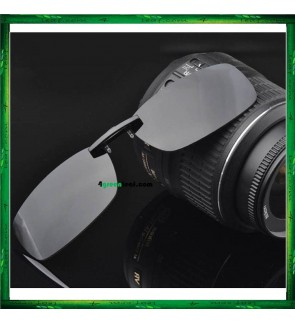 CS06 Clip On Polarized Sunglasses ( For Thin Glasses Frame )