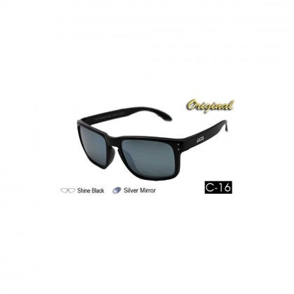 4GL Ideal 8834 Polarized Sunglasses Holbrook (Frame Shine Black)