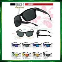 Ideal 8834 Holbrook Polarized Sunglasses Shine Black