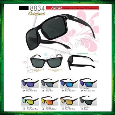 Ideal 8834 Holbrook Polarized Sunglasses (Frame Shine Black)