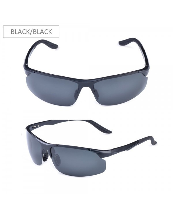 4GL 8008 TR90 Light Weight Men Anti Glare Polarized Sunglasses