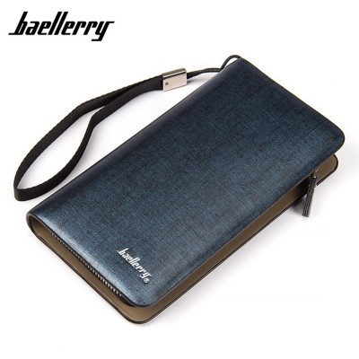 4GL Baellery A119 Premium PU Leather Men Wallet Purse Dompet