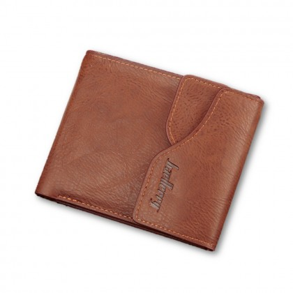 4GL BAELLERRY Men Women Wallet Short Purse Leather Dompet D0129