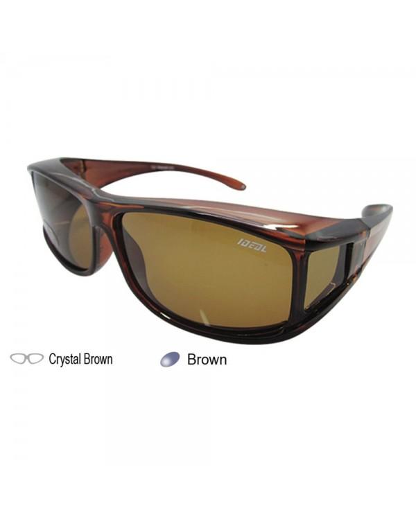 4GL IDEAL 8804 Polarized Fit Over Overlap Sunglasses