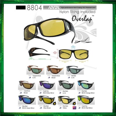 IDEAL 8804 Polarized Overlap Sunglasses