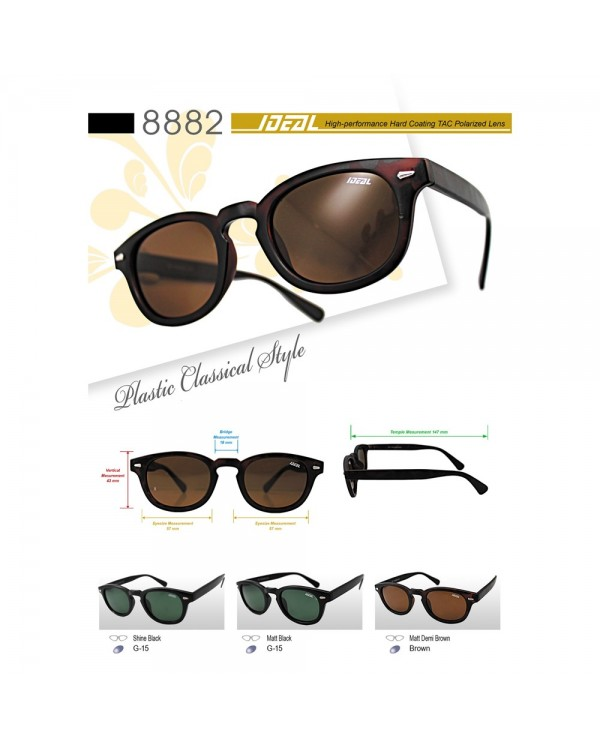 4GL Ideal 8882 Fashion Polarized Sunglasses Cermin Mata