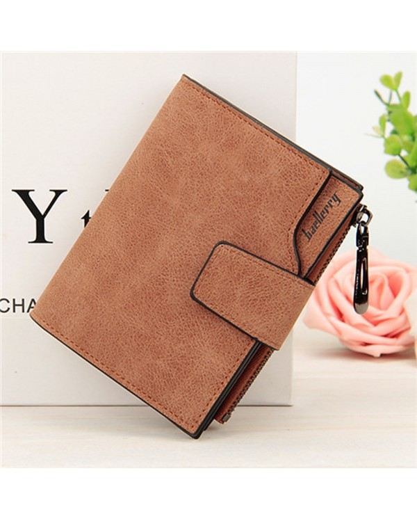 4GL Baellerry 138 Women Wallet Short Purse Leather