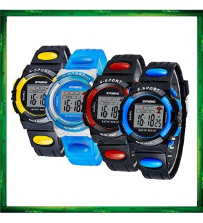 Synoke 932 Unisex Men Women Water Resistant Digital Sport Watch Watches