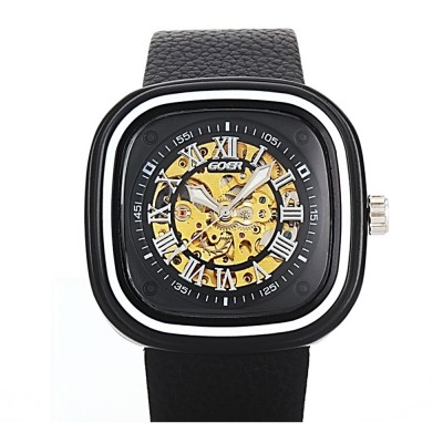 4GL GOER GM75 Automatic and Self Wind Mechanical Watch Waterproof