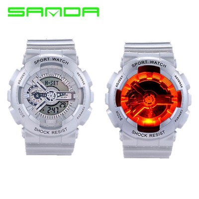4GL Sanda 299 Unisex Men Women Water Resistant Digital Sport Watch Watches
