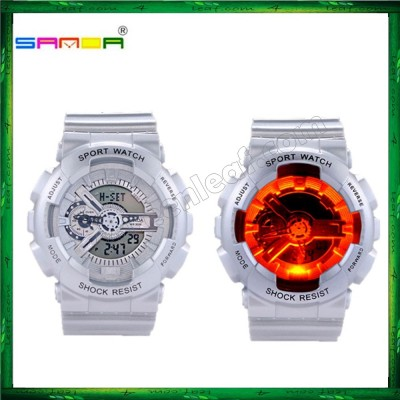 Sanda 299 Unisex Men Women Water Resistant Digital Sport Watch Watches