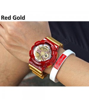 Sanda 299 Unisex Men Women Water Resistant Digital Sport Watch Watches
