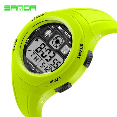 4GL SANDA Water Resistant LED Sports Watch Jam Tangan 331