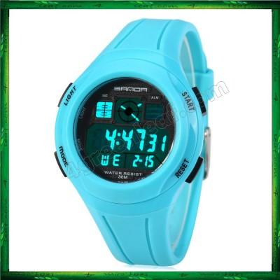 Sanda 331 Water Resistant Multifunctional LED Sports Watch