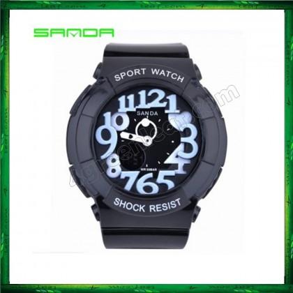 4GL Sanda 234 Waterproof Analog + Digital Wrist Watch