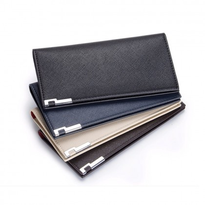 4GL BAELLERRY A026-3 Men Women Long Slim Wallet Purse
