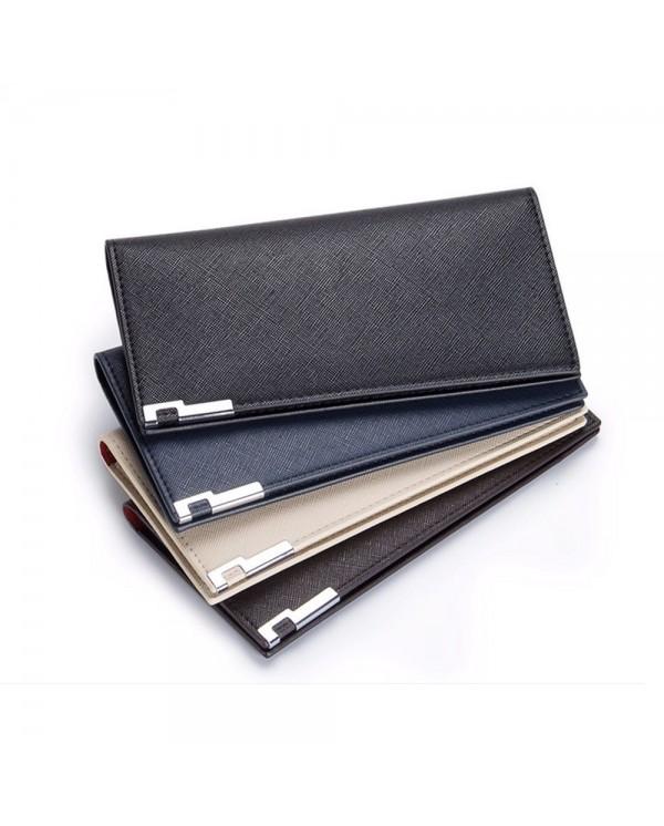 4GL BAELLERRY A026-3 Men Women Long Slim Wallet Purse
