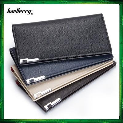Baellerry Men Women Long Slim Wallet Purse A026-3