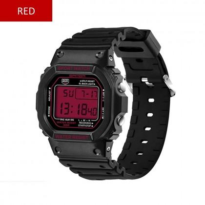 4GL Sanda 329 293 Men Women LED Couple Sports Watch with Alarm Date Day