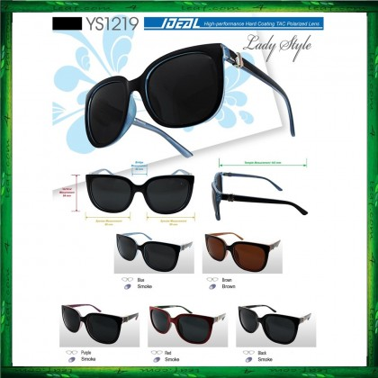 4GL Ideal YS1219 Polarized Sunglasses Lady Style Hard Coating Lens