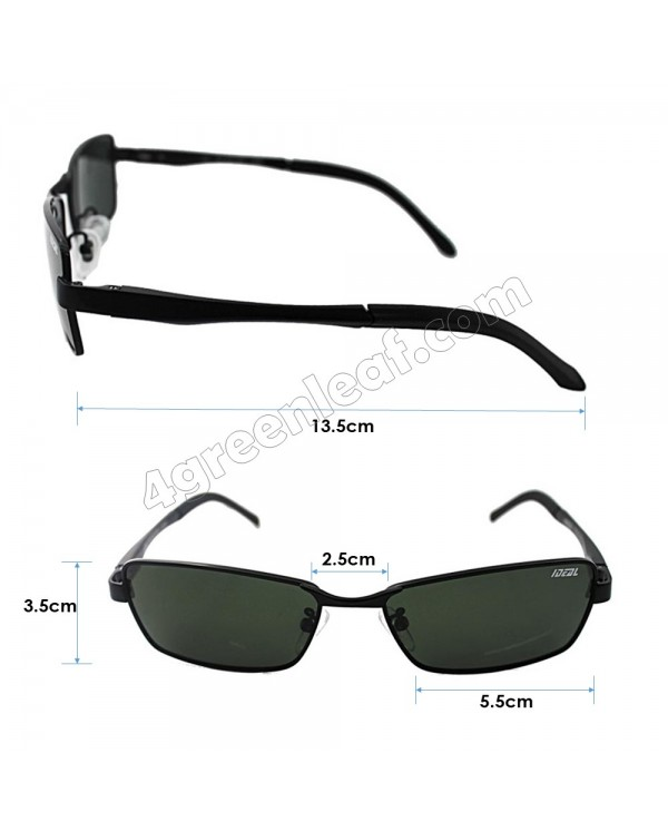 IDEAL 731M Spring Hinge Hard Coating Polarized Lens Sunglasses