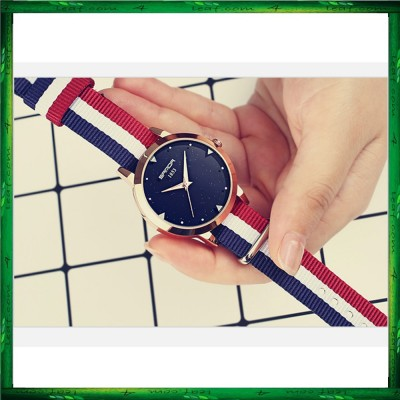 Sanda P207 Stripe Fashion Women Watch