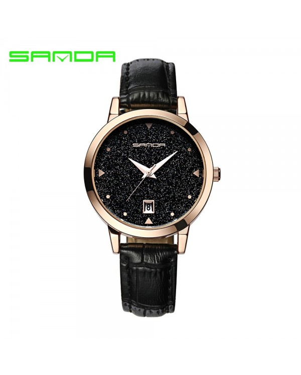 4GL Sanda P194 Sparkling Design Women Watches Jam Tangan