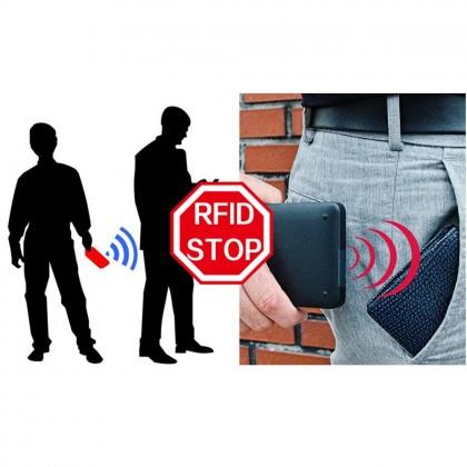 4GL BABORRY Men Zipper Wallet Card Holder Coin Purse Dompet QB02