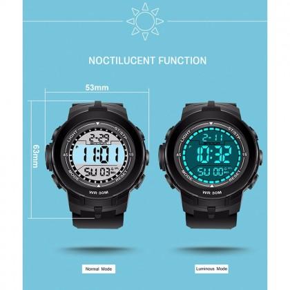 4GL Sanda 340 Watch Men Women Sports Digital LED Jam Tangan