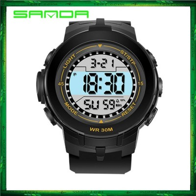 Sanda 340 Men Women Sports Digital LED Watch Jam Tangan