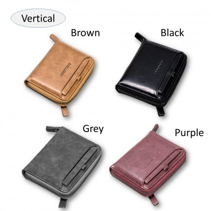 4GL Baellerry D3124 Men Women Wallet Short Purse Zipper Dompet