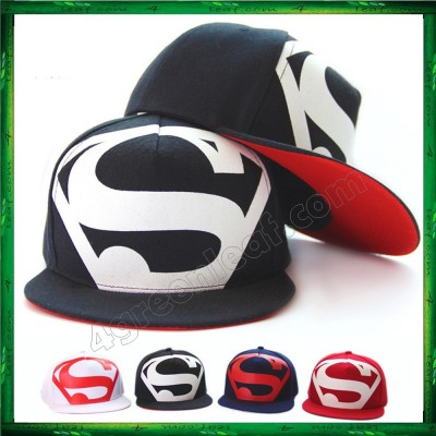Superman Big S Snapback Cap Hats For Men Women