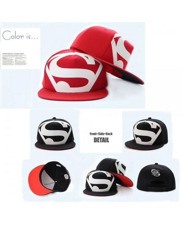 Superman Big S Snapback Cap Hats For Men Women