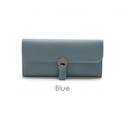 4GL 109F Long Purse Korean Fashion Plain Colour Women A0312
