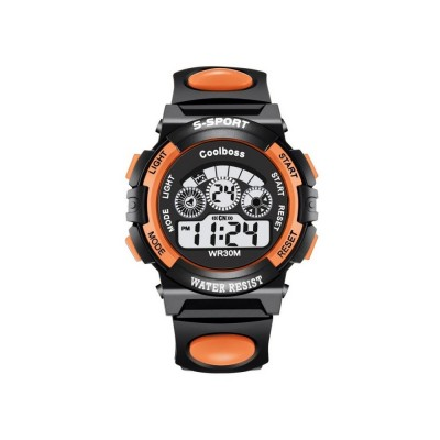 4GL Cool Boss Brand Kids Sports Digital LED Watch Waterproof Jam Tangan