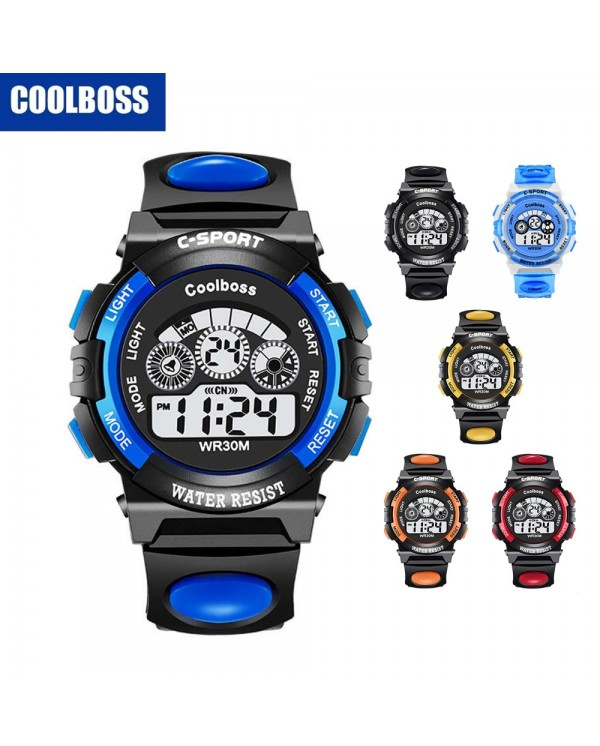 4GL CoolBoss Kids Sports Digital LED Watch Jam Tangan