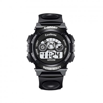 4GL CoolBoss / Cooboss CB-Kids Watch Sports Digital LED Jam Tangan