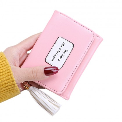 4GL HFY Korean Fashion Women Short Purse Wallet