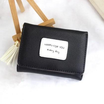 4GL HFY Short Purse Korean Fashion Women Wallet