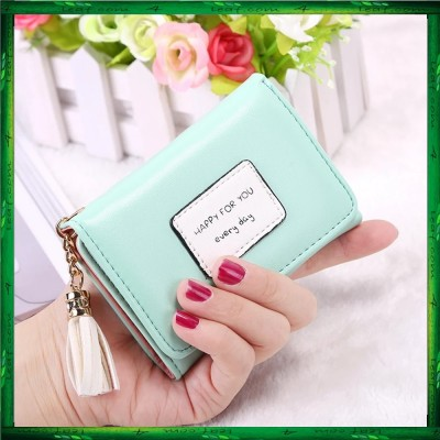 4GL Korean Fashion Women Short Purse Wallet HFY